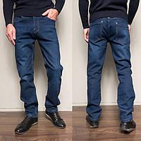 9004 Siheren джинсы мужские полубатальные на флисе зимние стрейчевые (33,34-2,36-2,38, 6 ед.), фото 1