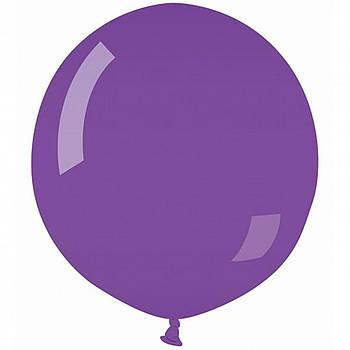 "Латексні кулі круглі без малюнка 18""/46см 08 пастель фіолетовий"
