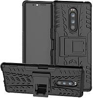 Чехол Armor для Nokia 3.1 Plus / TA-1104 бампер противоударный оригинальный черный, фото 1