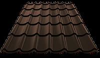 Металлочерепица Монтеррей полиэстер  0,45 от производителя