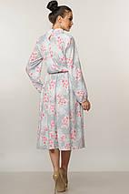 Женское цветочное платье-миди с чокером (Бохо-Миди ri), фото 3