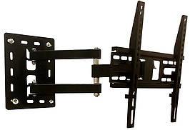 Кронштейн для телевизора (поворот / наклон / вынос / VESA 400/25кг) КБ-806 16210