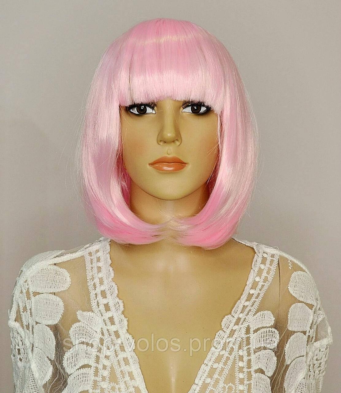 Парик JOY Pink light