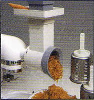 Насадка овощерезка  3 ножа к миксеру Kitchen Aid 5 KPM5EWH (США)