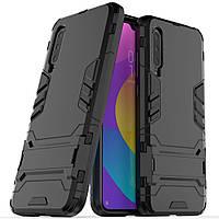 Чехол Iron для Xiaomi Mi 9 Lite бампер противоударный оригинальный Black