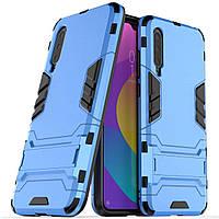 Чехол Iron для Xiaomi Mi 9 Lite бампер противоударный оригинальный Blue
