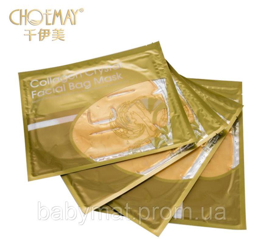 Гидрогелевая маска Esedo с коллагеном и 24к активным золотом