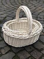 Набор корзин «Стиль» белая