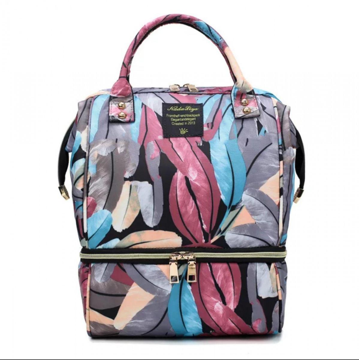 Рюкзак для мамы SLINGOPARK Leaves