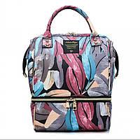 Рюкзак для мамы SLINGOPARK Leaves, фото 1