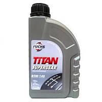 Трансмиссионное масло FUCHS TITAN SUPERGEAR 85W-140 (1л.) для механических коробок передач и др.