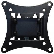 Кронштейн для телевизора черный или белый (поворот / наклон / VESA 100) КБ-811 16202