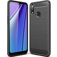 Чехол Carbon для Samsung Galaxy A10s / A107F бампер оригинальный Black, фото 1