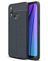 Чохол Touch для Samsung Galaxy A10s / A107F бампер оригінальний Auto Focus Blue