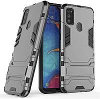 Чехол Iron для Samsung Galaxy M30s / M307F Бампер противоударный Gray, фото 1