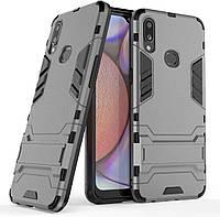 Чехол Iron для Samsung Galaxy A10s / A107F Бампер противоударный Gray, фото 1