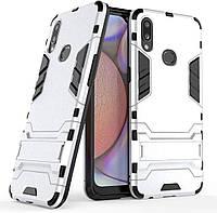 Чохол Iron для Samsung Galaxy A10s / A107F Бампер протиударний Silver