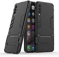 Чехол Iron для Samsung Galaxy A50 2019 / A505F Бампер противоударный Black, фото 1
