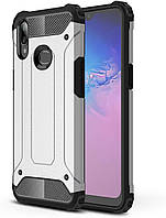Чохол Guard для Samsung Galaxy A10s / A107F бампер протиударний Immortal Silver