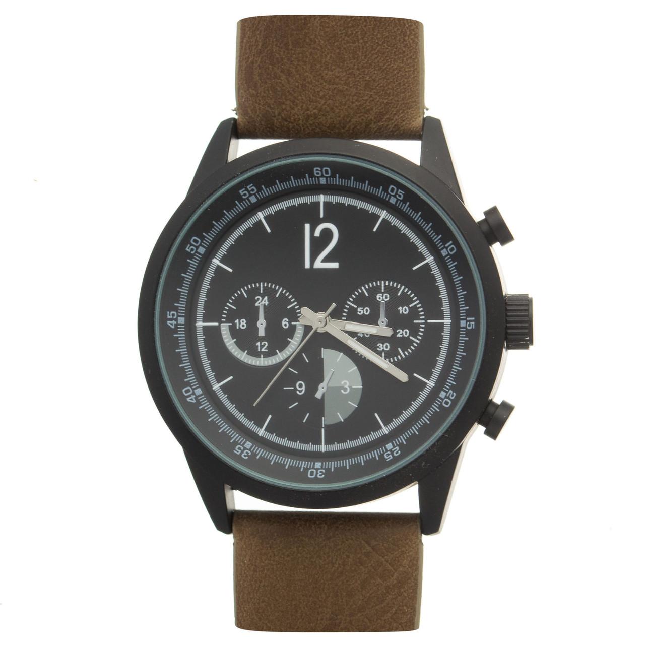 Чоловічий годинник Your Turn ZYT016 Black Б/У