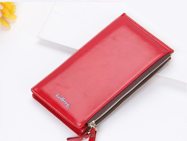 Многофункциональный кошелек клатч красный Baellerry код 240