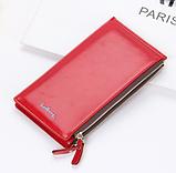 Многофункциональный кошелек клатч красный Baellerry код 240, фото 2