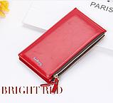 Многофункциональный кошелек клатч красный Baellerry код 240, фото 3