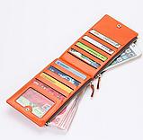 Многофункциональный кошелек клатч красный Baellerry код 240, фото 5