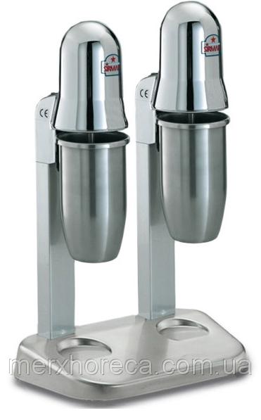 Міксер молочний подвійний SIRMAN Sirio 2 CE* (після виставки, оригінальне пакування)