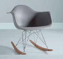 Кресло - качалка Тауэр R серое
