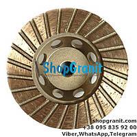 Алмазная фреза 100мм №0 (30/40) для ганита, камня, мрамора в нашем интернет магазине shopgranit.com