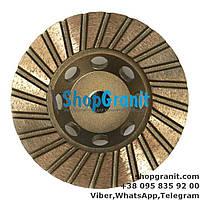 Алмазная фреза 100мм №2 (60/80) для ганита, камня, мрамора в нашем интернет магазине shopgranit.com