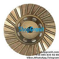Алмазная фреза 100мм №3 (100/120) для ганита, камня, мрамора в нашем интернет магазине shopgranit.com