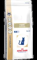 Ветеринарная диета для кошек Royal canin Fibre Response cat (при нарушении пищеварения) 400 гр