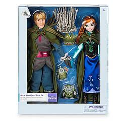 Анна и Кристофф Холодное сердце лимитированный набор кукол Frozen DISNEY