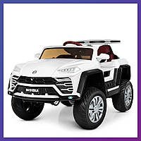 Детский электромобиль Porsche c пультом Bambi M 4191 EBLR-1 белый | Дитячий електромобіль Бембі белая
