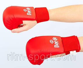 Накладки (перчатки) для карате, одобрены WKF Размер S