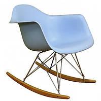 Кресло - качалка Тауэр R голубое