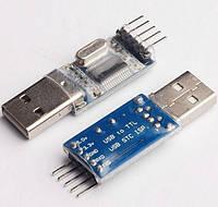 Переходник USB-COM RS232 PL2303HX Адаптер USB-UART USB-TTL конвертер