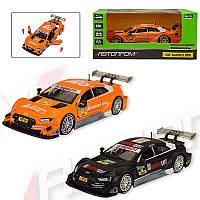 """Машинка - металлическая модель  68448 """"Автопром"""" 1:32  Audi RS 5 DTM"""