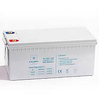 АКБ гелевый 12В 200Ач, AX-GEL-200, AXIOMA energy