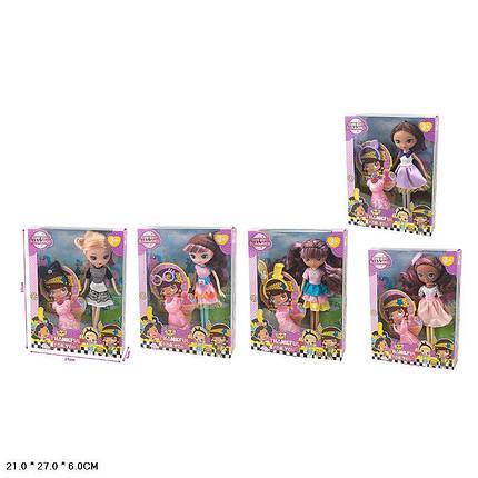 Кукла 5 видов, с аксессуарами, в кор.27*21*6см /60-2/, фото 2