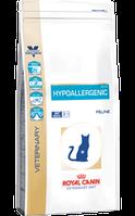 Ветеринарная диета для кошек Royal canin Hypoallergenic cat (при пищевой аллергии или непереносимости) 500гр