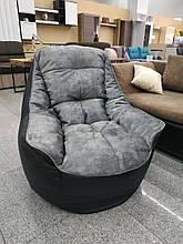 Кресло Президент (ткань Велюр и эко-кожа)