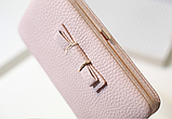Кошелек клатч женский розовый код 234, фото 4