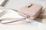 Кошелек клатч женский розовый код 234, фото 5