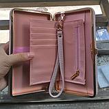 Кошелек клатч женский розовый код 234, фото 9
