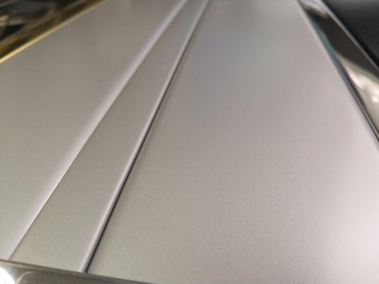 Реечный алюминиевый потолок Allux серебро металлик комплект 90 см х 160 см