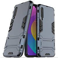 Чехол Iron для Xiaomi Mi 9 Lite бампер противоударный оригинальный Dark-Blue