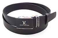 Мужской кожаный ремень-автомат Louis Vuitton, фото 1